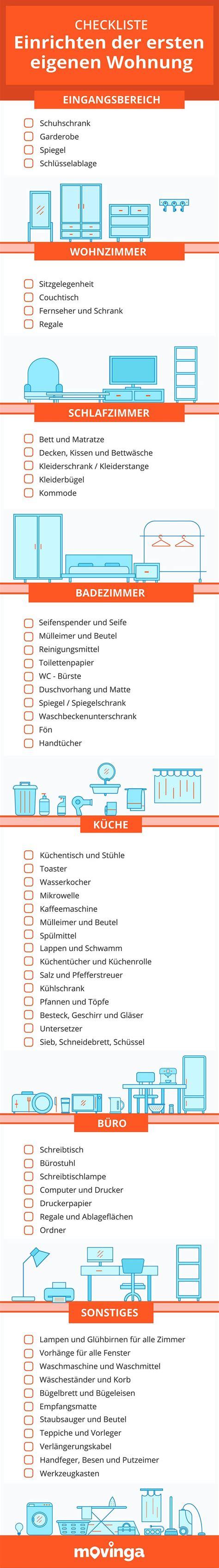 erste küche checkliste die besten 25 erste wohnung checkliste ideen auf checkliste f 252 r die erste wohnung