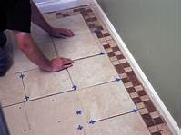 how to tile How to Install Bathroom Floor Tile   how-tos   DIY