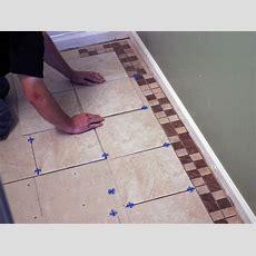 How To Install Bathroom Floor Tile  Howtos  Diy
