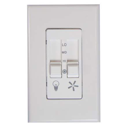 fan light dimmer switch 623lw ceiling fan speed control and light dimmer switch