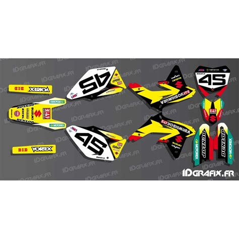 kit deco us ama yoshimura series for suzuki rm rmz idgrafix