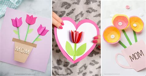 handmade mothers day cards  kids