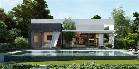 Private House - la visualisation d'une maison moderne