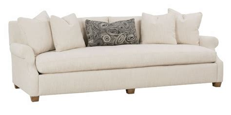 Large Bench Seat Fabric Sofa