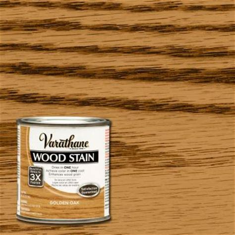 varathane 1 2 pt golden oak wood stain 266199 the home