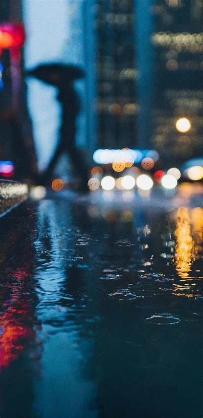 Pixel Google Wallpapers S9 Samsung Rain Galaxy