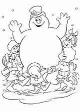 Snowman Abominable Drawing Coloring Pages Adults Getdrawings sketch template