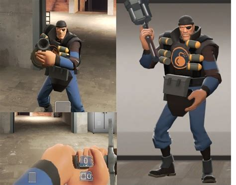 team fortress classic styled demomen team fortress
