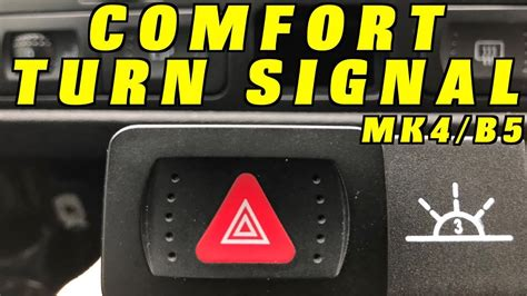 Turn On My Light by How To Add Comfort Turn Signals To A Volkswagen