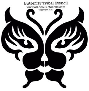 tribal stencils   stencils