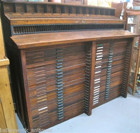 Printers Type Cabinet by I Want This Hamilton Letterpress Type Cabinet