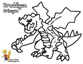 mega ex pokemon coloring pages