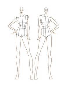 Fashion Design Sketch Figure Templates