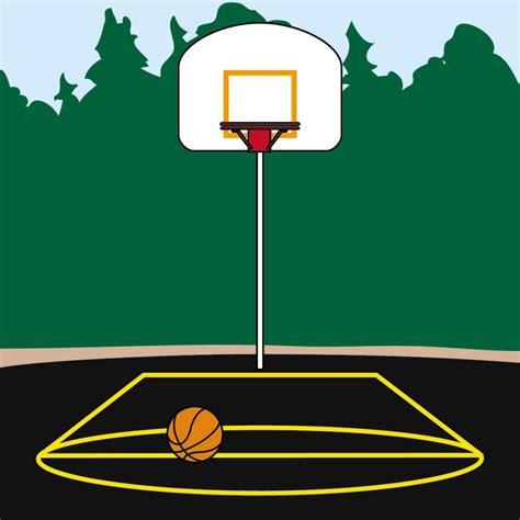 basketball clipart basketball court clipart clipartion