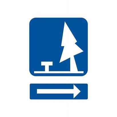 Area Rest Vector Clip Illustrations Road Ahead