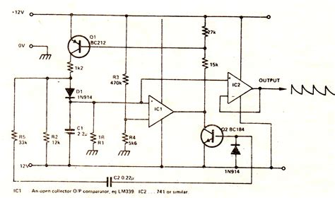 Exponential Waveform Generator Circuit Making Easy Circuits