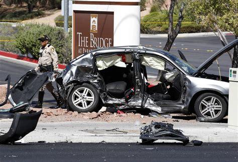 Driver Arrested After Boy Killed In 3-car Crash In Las