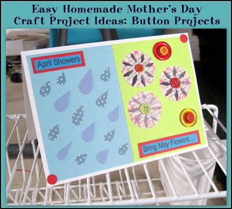 easy s day craft easy homemade mother s day craft project ideas button projects
