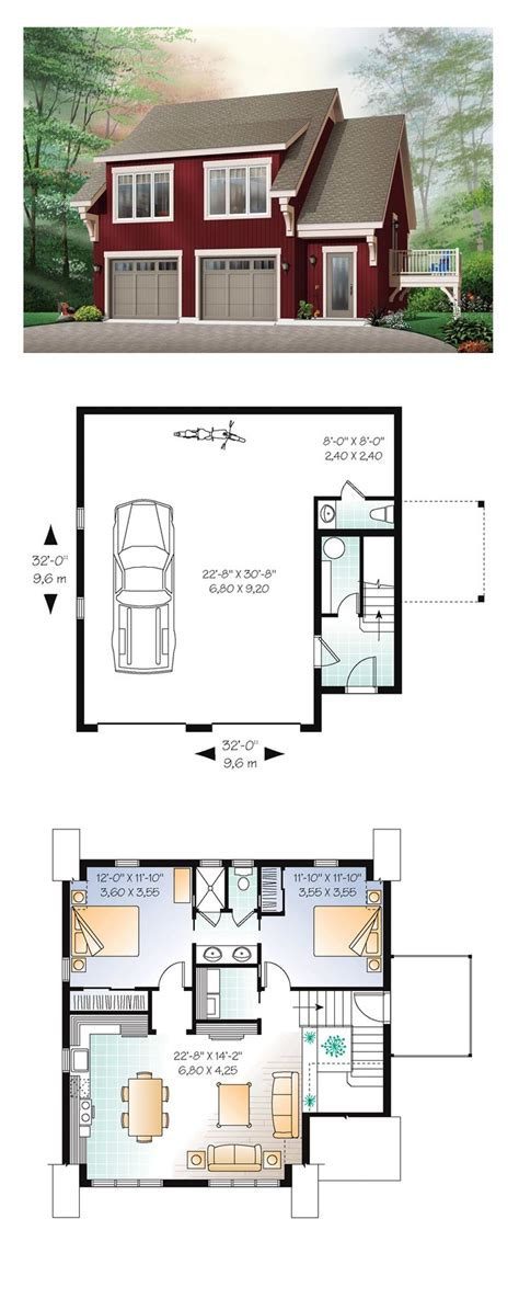 one garage apartment floor plans garage apartment plans 2 bedroom woodworking projects
