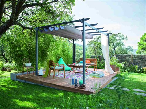 comment cr 233 er une terrasse bois en pente leroy merlin