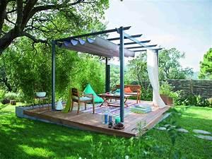 comment creer une terrasse bois en pente leroy merlin With amenagement exterieur maison terrain en pente 11 creer une terrasse en bois sur un terrain en pente