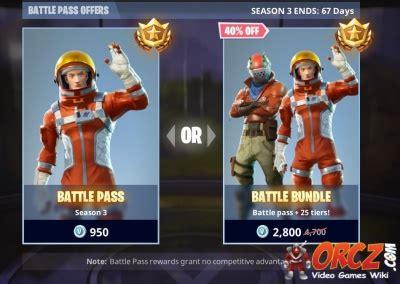 fortnite battle royale battle pass offers orczcom