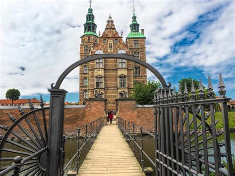 Rosenborg Castle In Kings Garden In Copenhagen Denmark