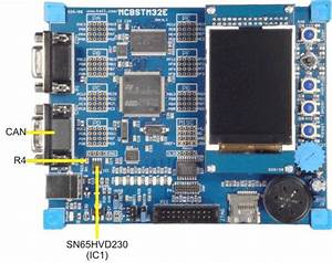 Mcbstm32e User U0026 39 S Guide  Can Interface