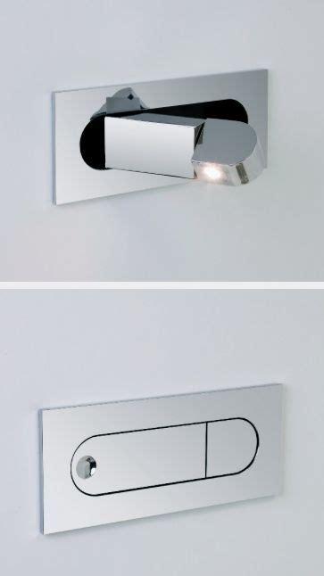 modern led flush bedside reading light light in
