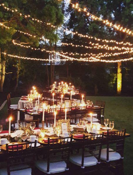 maroon  gold outdoor wedding reception decor modwedding