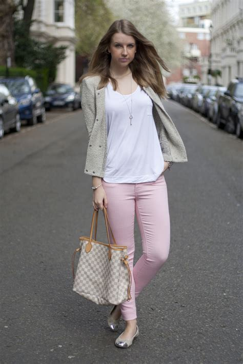 Light Pink Pants Outfit - Oasis amor Fashion