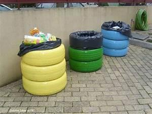 20 Brillantes ideas para reciclar neumáticos usados