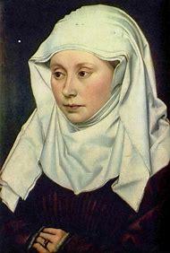 Robert Campin Portrait of a Woman