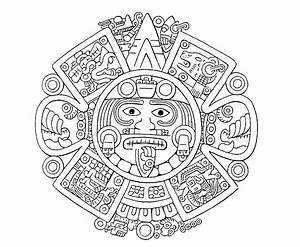 30. The number four | Mesoamerican, Drawing art and Drawings