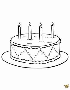 Dessin Gateau Anniversaire : g teau bougies est un coloriage d 39 anniversaire imprimer ~ Melissatoandfro.com Idées de Décoration