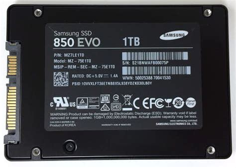 Samsung's 850 EVO 1TB SSD appears live  in 3D • The