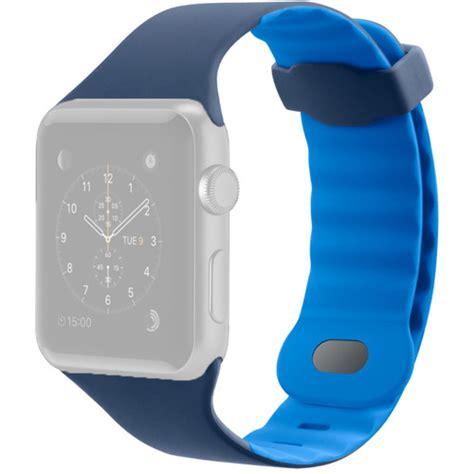 light blue apple watch band belkin sport band for apple watch 42mm marina blue