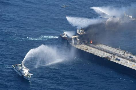 Fire-hit supertanker owner to pay $1.8 million for Sri ...