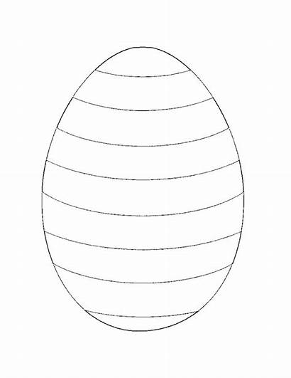 Easter Coloring Egg Printable Number Colouring Printables
