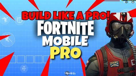 pro fortnite mobile player   hud setup