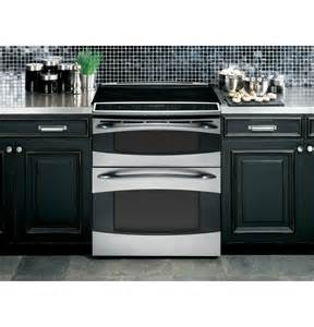 Slide in Double Oven Electric Range