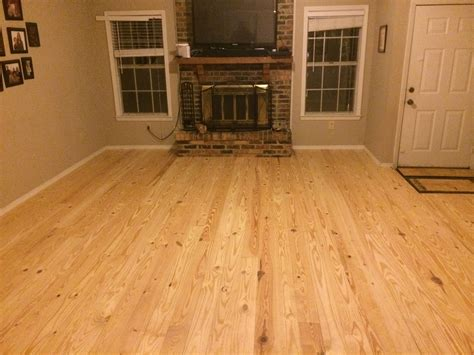 Rustic Knotty Pine Flooring From Southern Wood Specialties