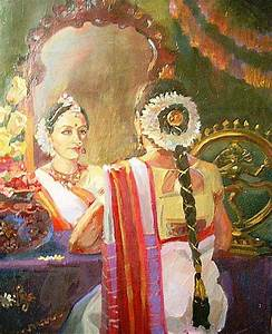 INDIAN PAINTING,south indian woman | Indian Art n ...