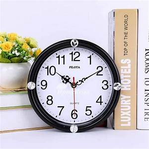 Small Round Ceiling Lights Small Wall Clocks Round White Black Cheap Kids Plastic
