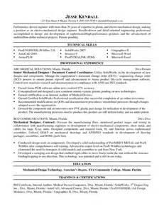 mechanical design engineer cv exle mechanical design resume sales mechanical site engineer lewesmr