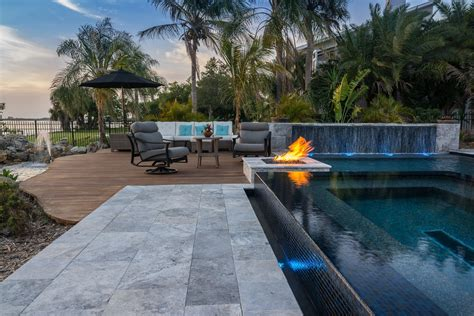 Kitchen Living Space Ideas - for the birds custom pool in osprey florida lucas lagoons