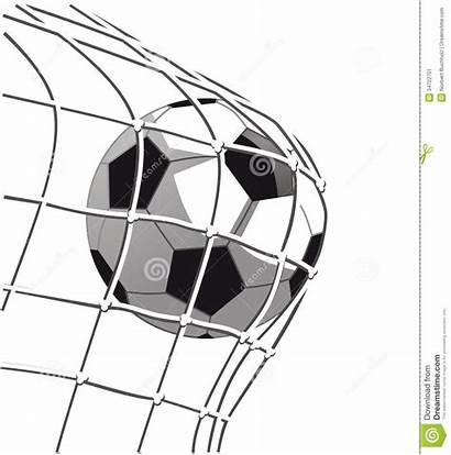 Soccer Goal Clipart Ball Illustration Hitting Advertisement