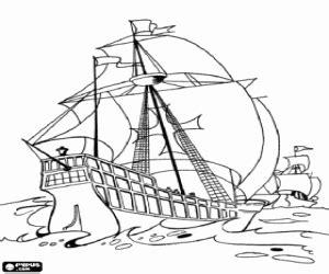 Barcos Para Colorear De Cristobal Colon by Juegos De Descubrimiento De Am 233 Rica Crist 243 Bal Col 243 N Para