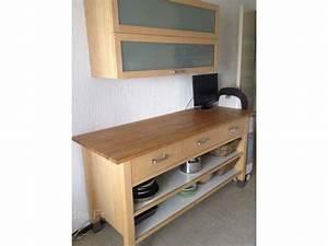 Meuble De Cuisine Ikea : meuble cuisine ikea bois cuisine en image ~ Melissatoandfro.com Idées de Décoration