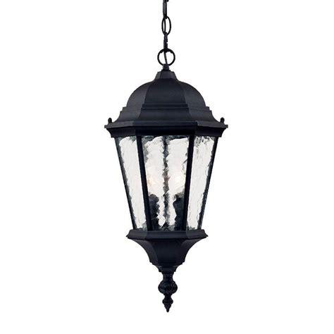 acclaim lighting telfair collection 2 light matte black